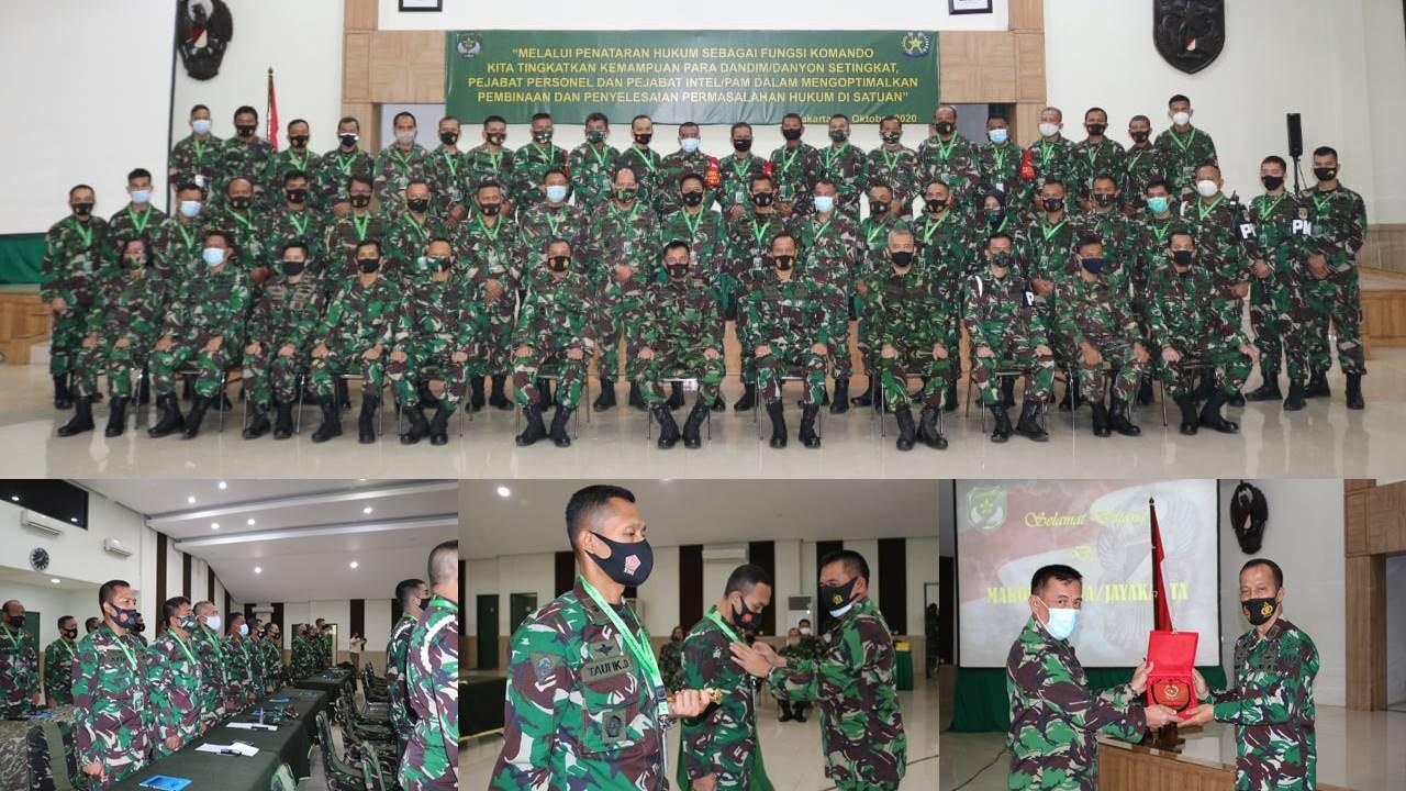Mobile Training Team (MTT) Bagi Para Dandim Danyon Pejabat Pers dan Intel/Pam Satjar Kodam Jaya